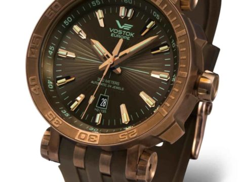 NH35 575O285 Energia with Brown Silicon strap 1