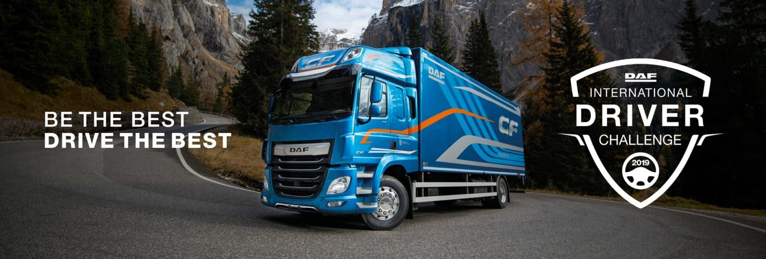 The search for the International DAF Driver Champion starts now