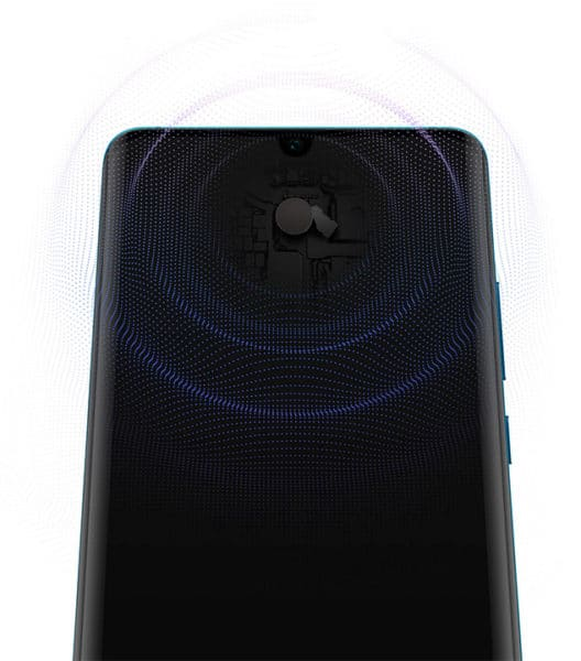 Huawei Acoustic Display Technology