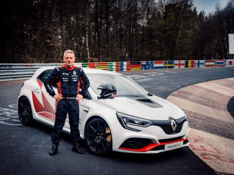 21226037 2019 Renault M GANE R S TROPHY R record at the N rburgring