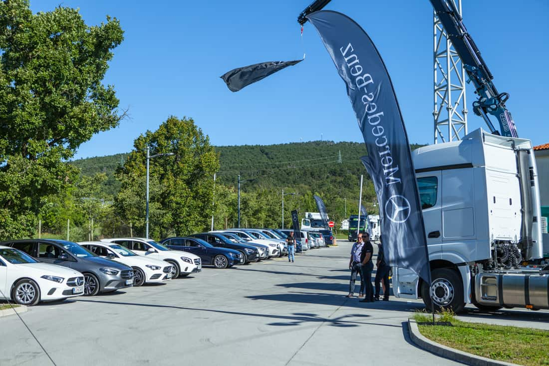 Mercedes-Benz Trucks Roadshow Kozina