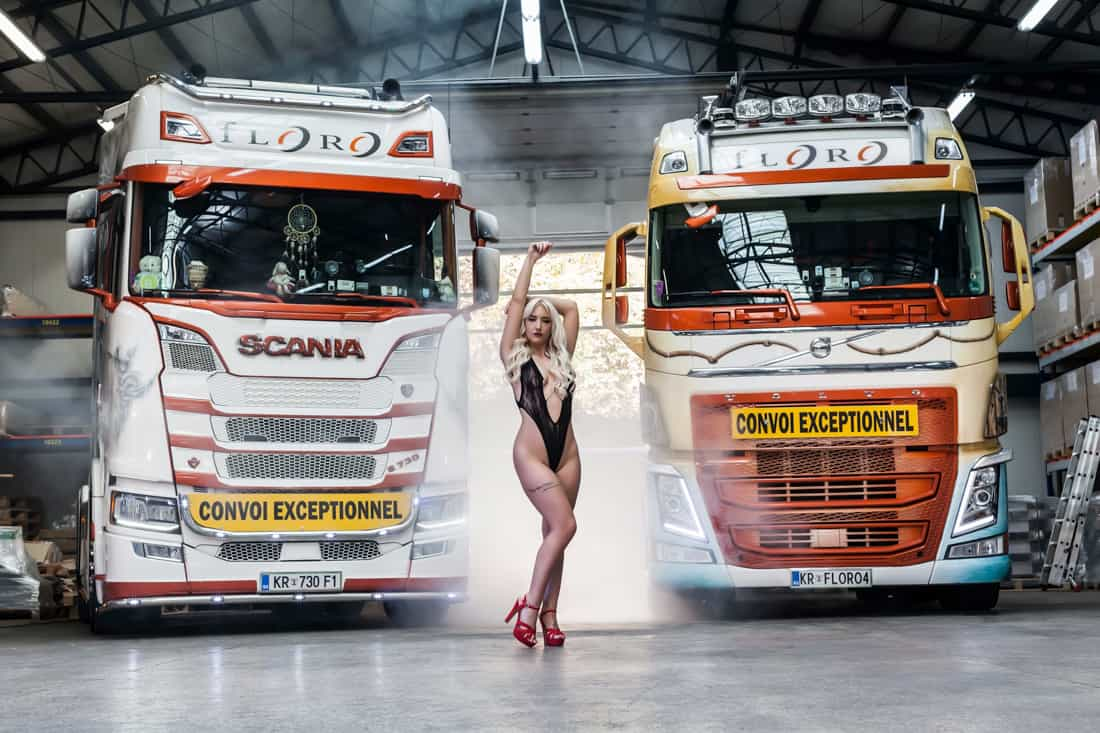 Scania 730 vs Volvo Fh 750