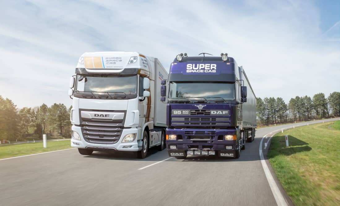 DAF Super Space Cab Celebration Edition And 1994 First Edition 2