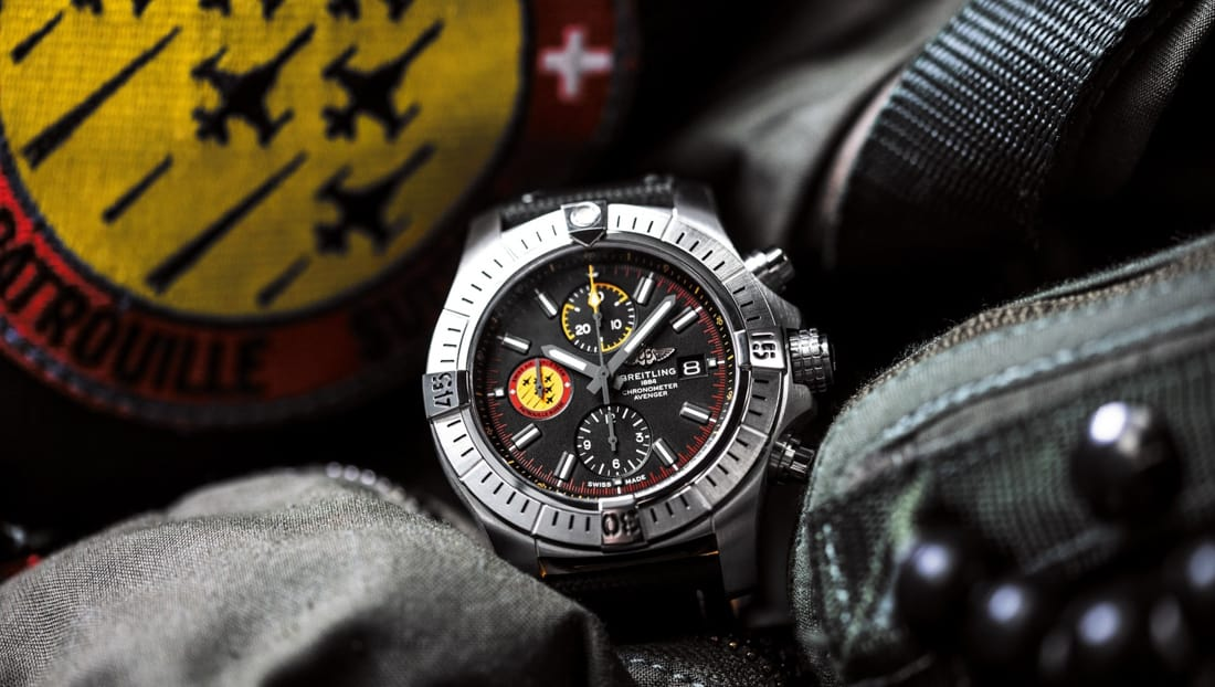 01 avenger swiss air force team limited edition