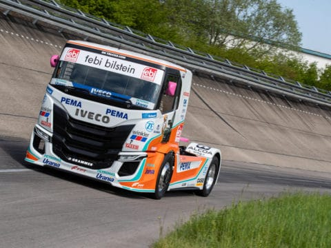 IVECO S WAY R racing trucks