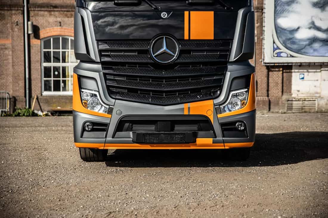 Actros Grand Prix Edition