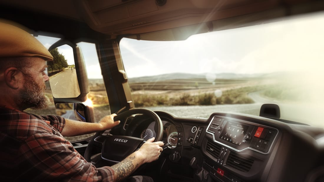 IVECO to launch pioneering on board vocal truck driver companion built on Amazon Web Services AWS technology