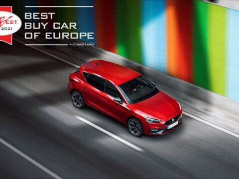 Best Buy Car of Europe 2021 the all new SEAT Leon wins AUTOBEST 2021 01 HQ