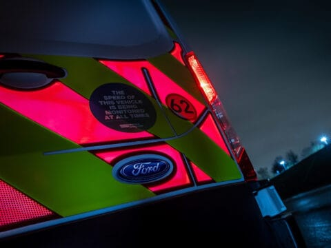 high visibility electronic panels ford oval