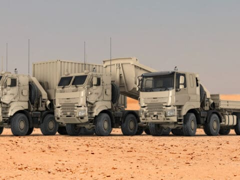 DAF receives large order from Belgian Armed Forces